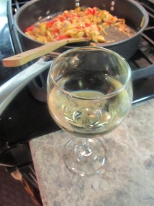 Pour yourself  glass of wine while you do all this cooking, you deserve it after all!