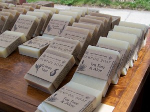 Some of Scott's awesome soaps