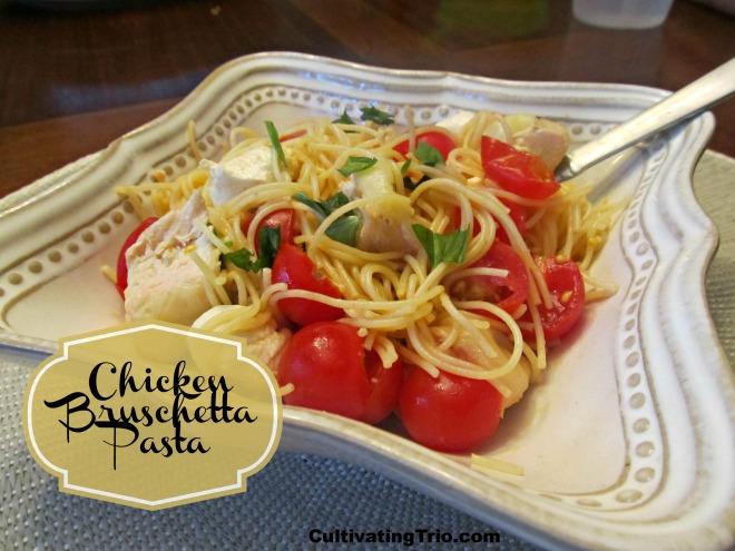 Chicken Bruschetta Pasta
