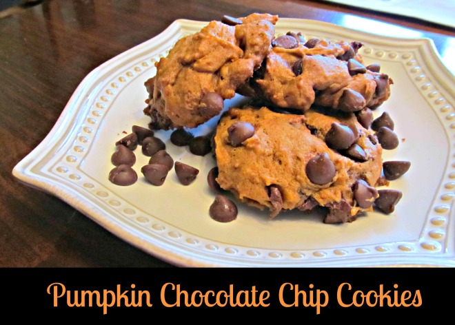 Pumpkin Choc Chip Cookies