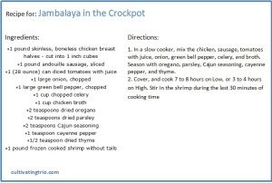 Jumbalaya Crockpot Recipe