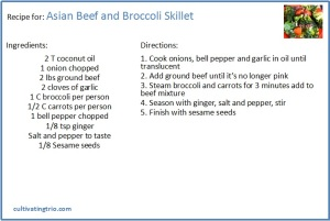 Whole30 Asian Beef & Broccoli recipe