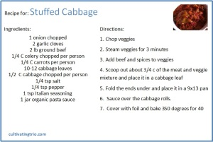 Whole30 Stuffed Cabbage recipe